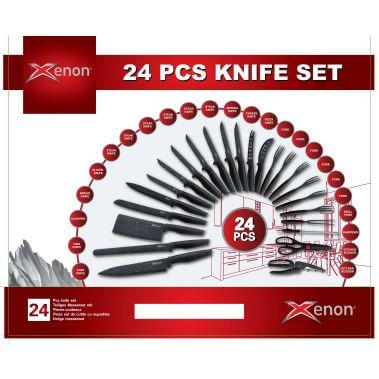 סט 24 סכינים