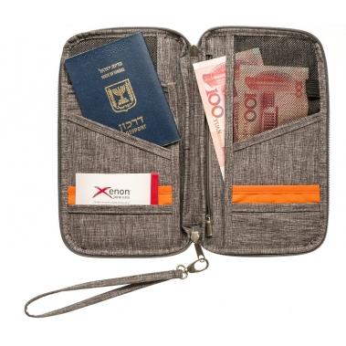 ארנק לדרכון ומסמכים
