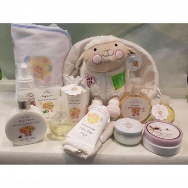 מארז שי 13 מוצרים מסדרת הפרימיום לתינוקות COTTON BABY